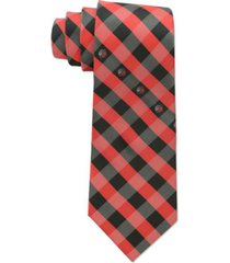 eagles wings portland trail blazers checked tie
