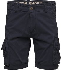 crew short shorts casual blå alpha industries