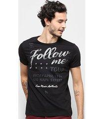 camiseta acostamento masculina - masculino