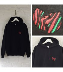 actual fact wu tang x tribe called quest marauders hoody hooded sweatshirt