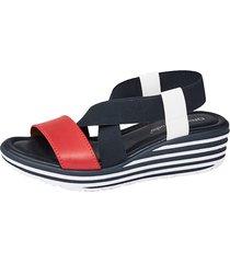 sandaletter liva loop marinblå::röd::vit