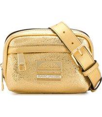 marc jacobs pochete 'sport' de couro - dourado