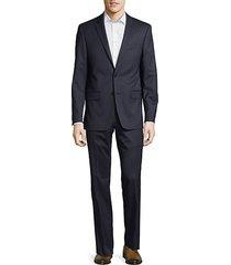 wool slim suit
