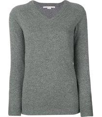 stella mccartney v-neck pullover - grey