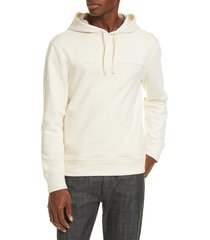 men's a.p.c. scott pullover hoodie, size x-large - beige