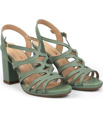 sandalia verde menta versilia sharpie