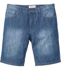 bermuda di jeans in denim estivo regular fit (blu) - john baner jeanswear