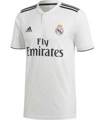 camiseta blanca adidas titular real madrid replica hombre