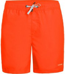 icepeak zwembroek men melstone dark orange