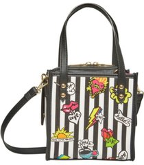 betsey johnson two in one icons small tote