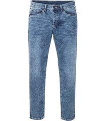 jeans elasticizzati skinny straight (blu) - rainbow