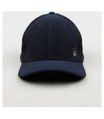 boné masculino aba curva básico azul marinho