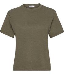 t-shirt classic t-shirts & tops short-sleeved grön bread & boxers