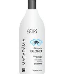 selagem térmica macadâmia ultimate blond felps profissional 1000ml