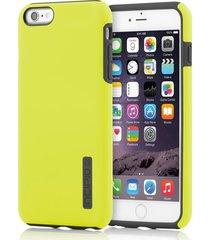 estuche para iphone 6/6s incipio dual pro - amarillo