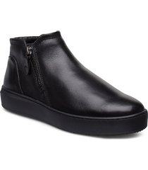 woms slip-on shoes boots ankle boots ankle boot - flat svart tamaris