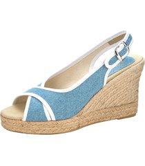 sandaletter wenz ljusblå