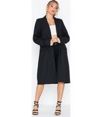 nly trend longline coat kappor