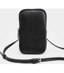 mariah wallet cellphone case - black