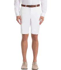 lauren by ralph lauren men's classic fit linen suit separates shorts white - size: 30