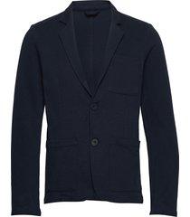 blazer cfbob pique 2 button blazer blazer colbert blauw casual friday