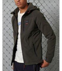 superdry men's polar zip hoodie