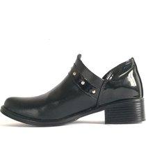 botines tani negro valése