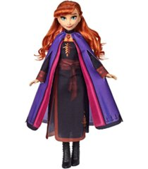 disney frozen anna fashion doll with long red hair and outfit inspired by frozen 2 movie