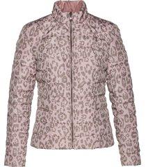 giacca trapuntata reversibile con poliestere riciclato (rosa) - bpc selection premium