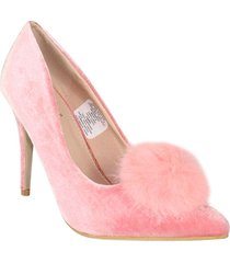 tacones stilettos coral wanted michi h