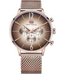 reloj análogo f0114gs-6 hombre dorado