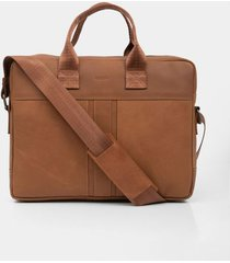 bolso para hombre en cuero tipo maletín portatil oasis muller