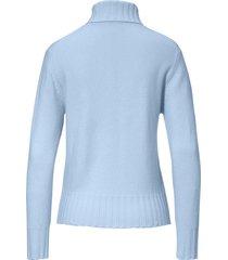 coltrui model bernadette van peter hahn cashmere blauw