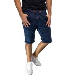 bermuda jogger azul oscuro manpotsherd ref: joggshort