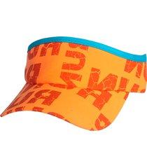 viseira fastpace run laranja - laranja - dafiti