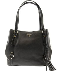 michael kors carrie large pebbled leather shoulder bag