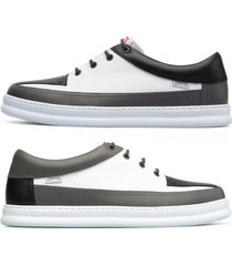 camper twins, sneaker uomo, grigio/bianco/nero, misura 46 (eu), k100472-003