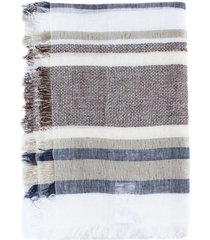 fabiana filippi linen and lurex scarf