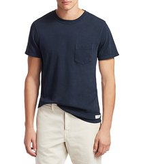 7 for all mankind men's boxer pocket t-shirt - midnight navy - size xs