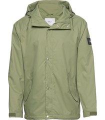 region jacket regenkleding groen makia