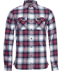 lumberjack lite shirt skjorta casual röd superdry