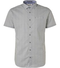 no excess all over printed short sleeve shirt olive