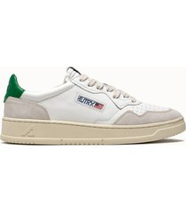 sneakers autry low colore bianco verde