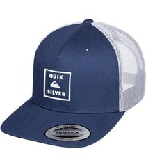 gorra azul  quiksilver