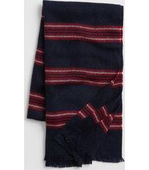 bufanda cozy hombre azul gap