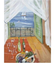 """patricia a. reed wine date canvas art - 15.5"""" x 21"""""""