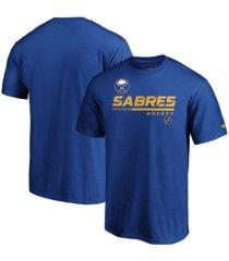 majestic buffalo sabres men's locker room prime t-shirt