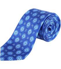 kiton blue tie