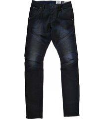 garcia savio biker slim fit jeans blackblue