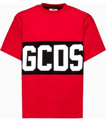 gcds band logo t-shirt cc94m021014